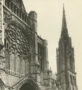 Chartres French Cathedral