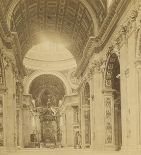 19th Century Rome, St. Peter