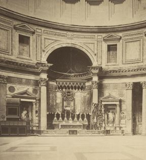 19th Century Rome, The Pantheon