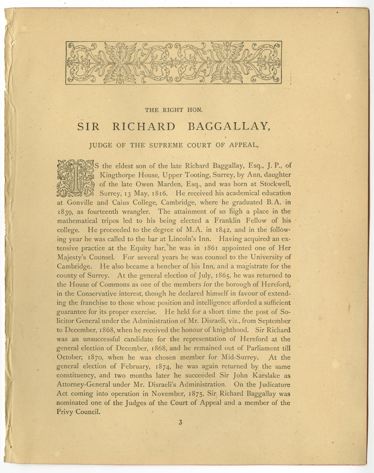 Richard Baggallay
