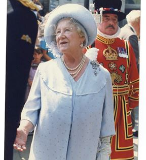 Queen Elizabeth The Queen Mother (Peter Warrack)