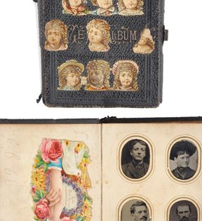 19th Century Gem Tintype Album