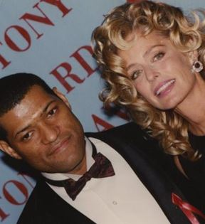 Laurence Fishburne & Farrah Fawcett (Peter Warrack)