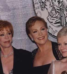 Carol Burnett, Julie Andrews & Judi Dench (Peter Warrack)