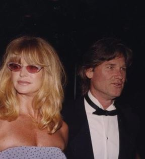 Kurt Russell & Goldie Hawn (Peter Warrack)