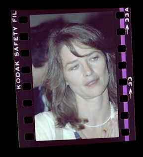 Charlotte Rampling (Peter Warrack)