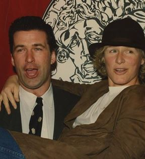 Glenn Close & Alec Baldwin (Peter Warrack)