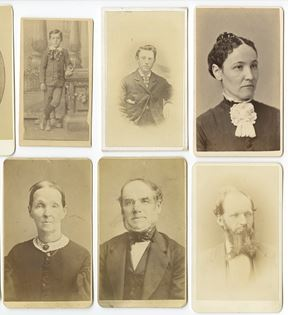 19th Century Carte-de-visite Photographs