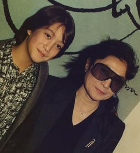 Yoko Ono, Sean Lennon (Peter Warrack)
