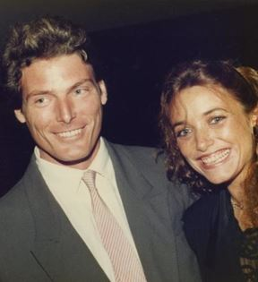 Christopher Reeve & Karen Allen (Peter Warrack)