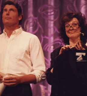 Christopher Reeve & Dixie Carter (Peter Warrack)