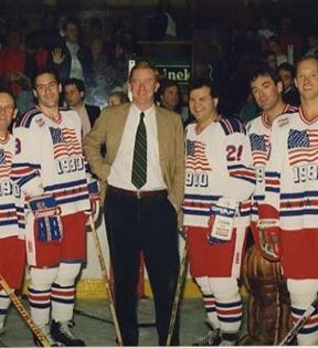1980 U.S. Olympic Hockey Team (Peter Warrack)