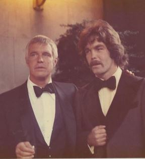 George Peppard & Derek Sanderson (Peter Warrack)