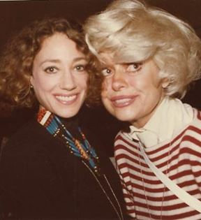 Marissa Berenson & Carol Channing (Peter Warrack)