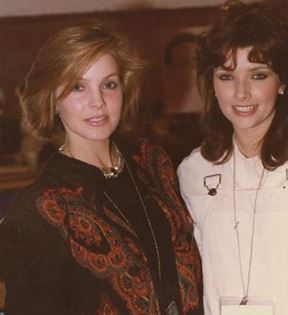 Priscilla Presley & Morgan Brittany (Peter Warrack)