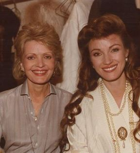 Florence Henderson & Jane Seymour (Peter Warrack)