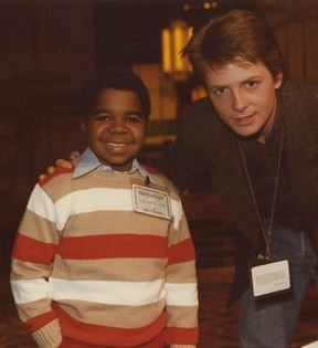 Michael J. Fox & Gary Coleman (Peter Warrack)