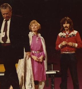Doug Henning & Florence Henderson (Peter Warrack)