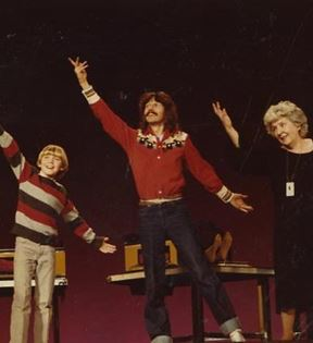 Doug Henning & Rick Schroder (Peter Warrack)