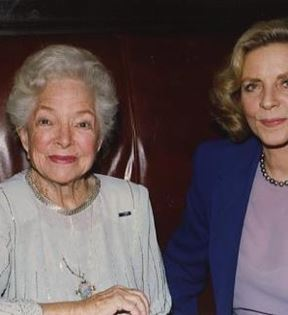 Lauren Bacall & Helen Hayes (Peter Warrack)