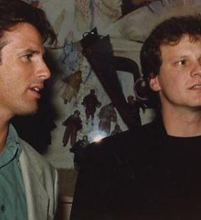 Colin Firth & Hart Bochner (Peter Warrack)