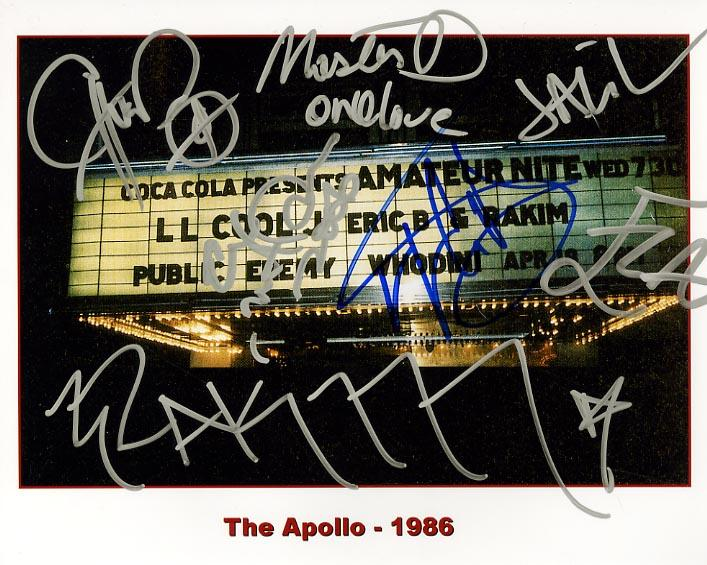 The Apollo - 1986 Rap Legends