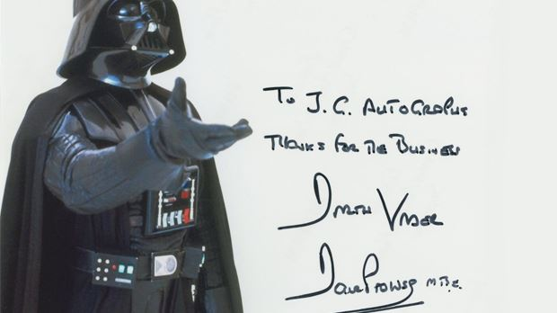 """Star Wars"" Private Signings"