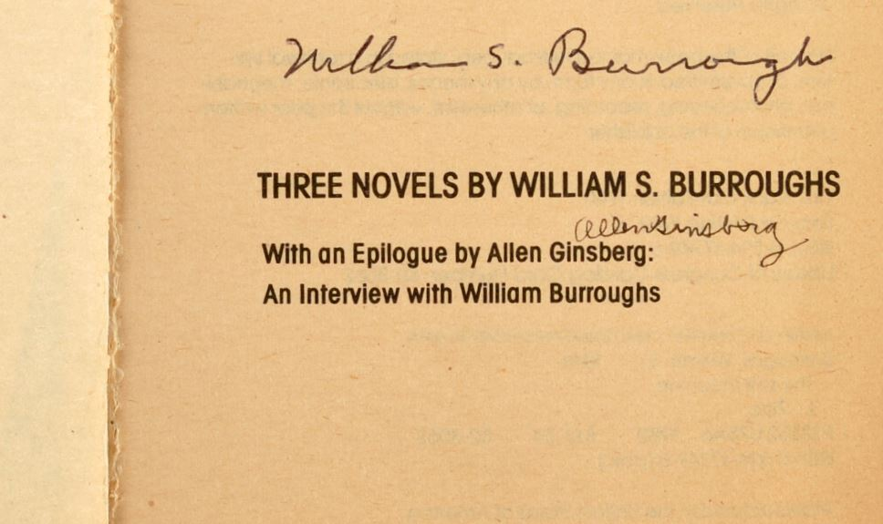 Allen Ginsberg, William S. Burroughs & The Beat Generation