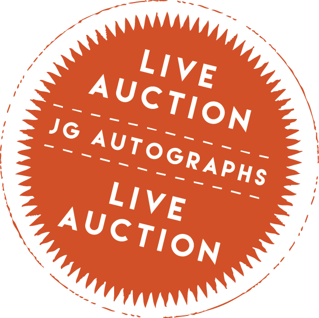 JG Autographs Live Auction