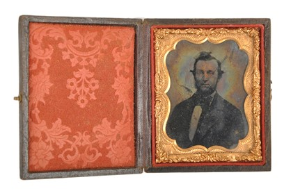 Ninth-Plate Ambrotype