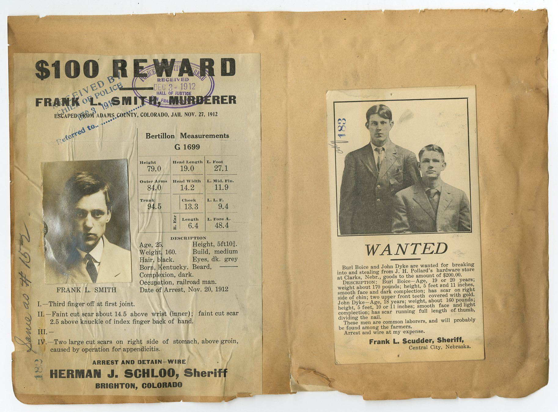 Wanted Notices