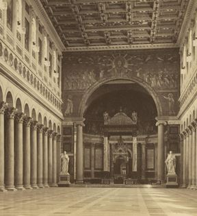 19th Century Rome, St. Paul