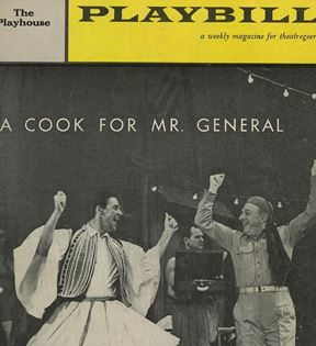 """A Cook For Mr. General"""
