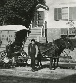 Ice Delivery Wagon (Charles H. Currier)
