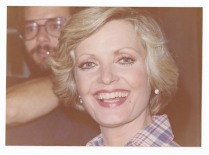 Florence Henderson (Peter Warrack)