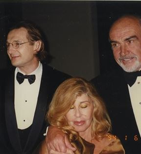 Natasha Richardson, Liam Neeson & Sean Connery (Peter Warrack)