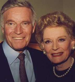 Charlton Heston & Alexis Smith (Peter Warrack)