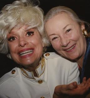 Rosemary Harris & Carol Channing (Peter Warrack)