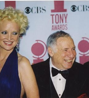 Christine Ebersole, Mel Brooks & Nathan Lane (Peter Warrack)