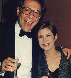 Carrie Fisher (Peter Warrack)