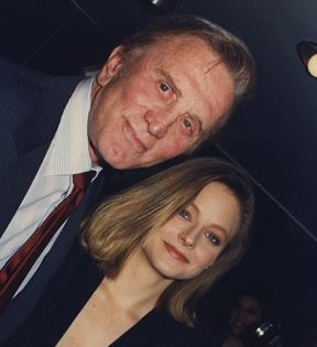 Jodie Foster and Kirk Douglas (Peter Warrack)