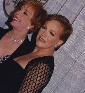 Julie Andrews & Carol Burnett (Peter Warrack)