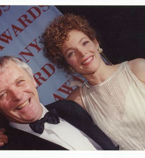Anthony Hopkins & Amy Irving