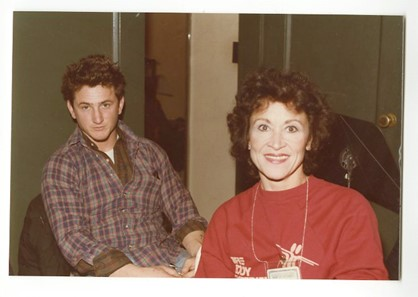 Sean Penn & Chita Rivera (Peter Warrack)