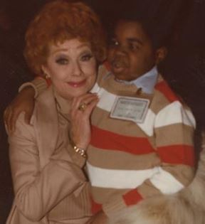 Lucille Ball & Gary Coleman (Peter Warrack)