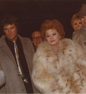 Lucille Ball & David Hasselhoff (Peter Warrack)