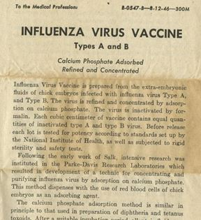 Influenza Virus Vaccine