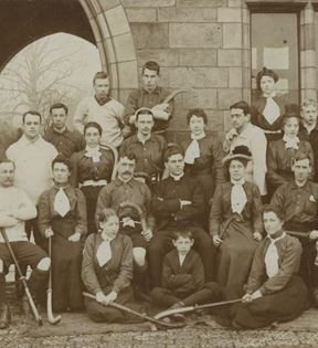 19th Century Field Hockey Team