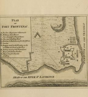 Plan of Fort Frontenac