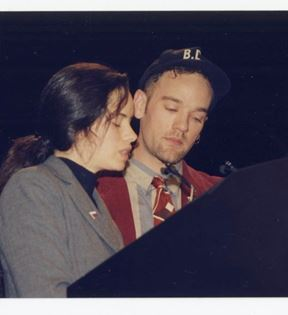 Michael Stipe, Natalie Merchant (Peter Warrack)